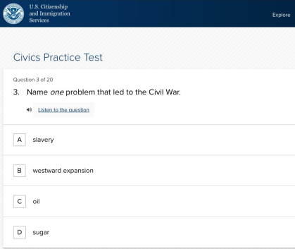 civics test twitter